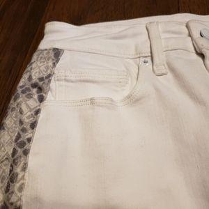 Good American Skirts - NWOT Good American Snake Print Mini Skirt